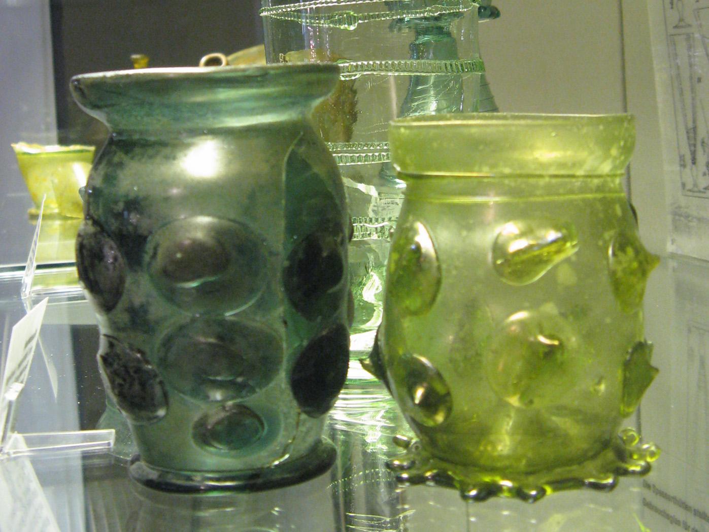 Waldglas: Mundgeblasenes Glas