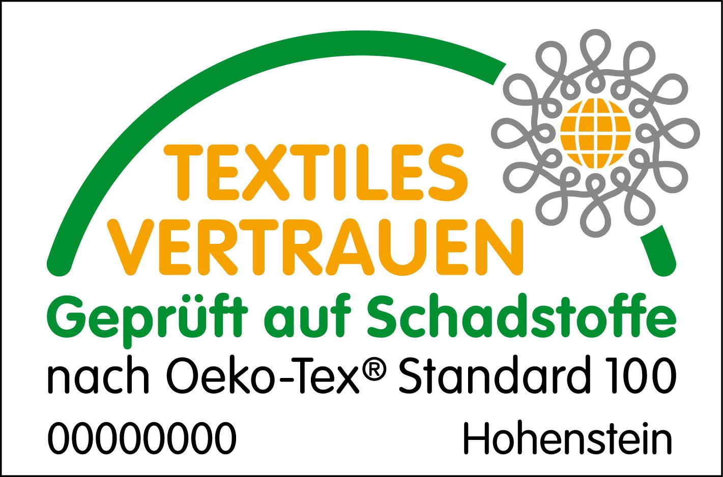 Der Oeko-Tex-Standard ist ein unabhängiges Prüf- und Zertifizierungssystem für Textilien aller Verarbeitungsstufen.