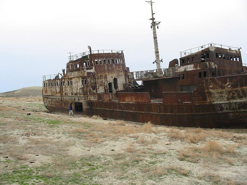 Ein Binnenmeer ist verschwunden. Der Baumwollanbau zerstörte den Aralsee