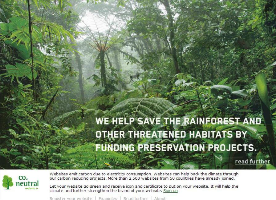 Wir müssen der Abholzung der Regenwälder entgegentreten.