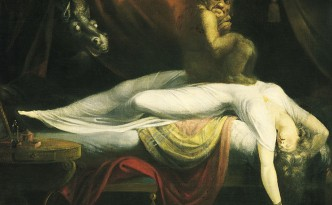 John Henry Fuseli - The Nightmare. Aus: Wikipedia