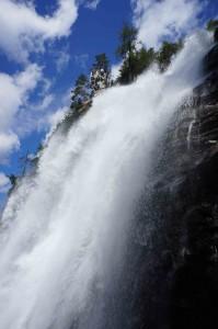 Der wahre Reichtum der Alpen: das wunderbare Quellwasser. Bild: PV