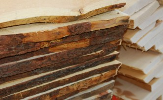 Holz vor Bearbeitung