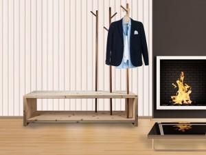 Zirbenholz Garderobe