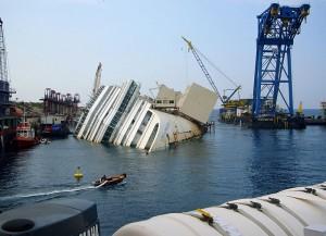 Auch das Unglück mit der Costa Concordia geschah am Freitag den 13.