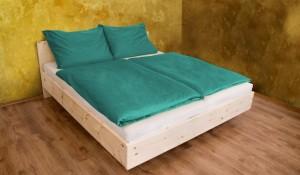 Mit unserem Zirbenbett kann der Schlaflosigkeit der Kampf angesagt werden...