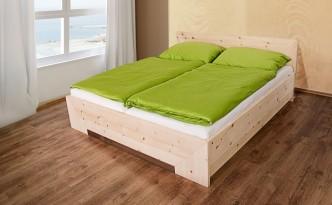 Ein Bett aus Zirbenholz: Damit schlaft ihr wie ein Murmeltier...