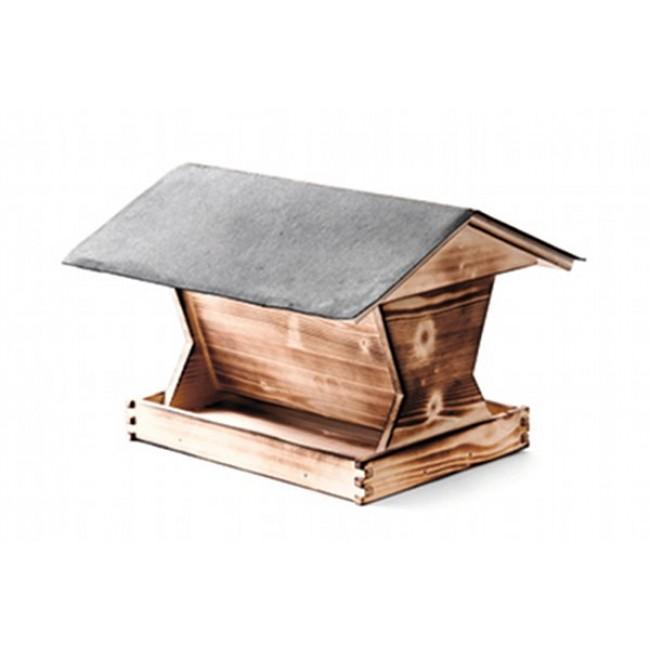Mit diesem Vogelhaus im Garten zwitschert und tirilliert es in eurem Garten bald an allen Ecken und Enden...
