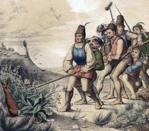 Schon die 7 Schwaben führten einen Schrubber mit. Dass wir den Spieß umdrehen und aus ihm einen Besenstiel machen ist die eigentliche Revolution.